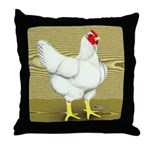 Cornish/Rock Cross Hen Throw Pillow