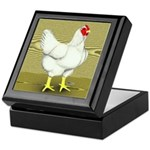Cornish/Rock Cross Hen Keepsake Box