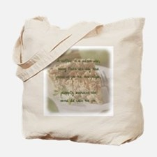Mother's pie Tote Bag