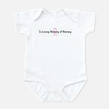 In Loving Memory of Mommy pin Infant Bodysuit
