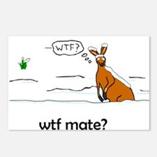 WTF Mate Postcards (Package of 8)