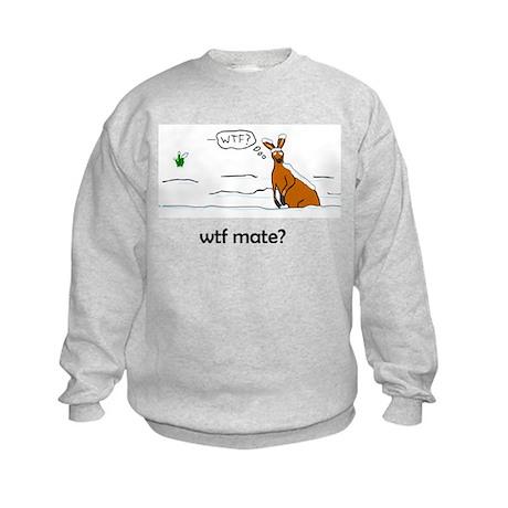 WTF Mate Kids Sweatshirt