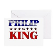 PHILIP for king Greeting Cards (Pk of 20)