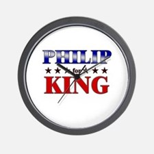 PHILIP for king Wall Clock