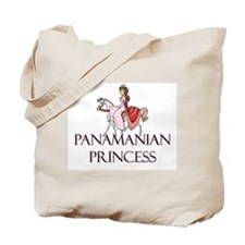 Panamanian Princess Tote Bag
