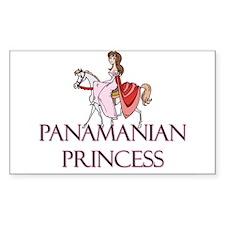 Panamanian Princess Rectangle Decal