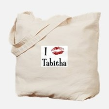 I Kissed Tabitha Tote Bag