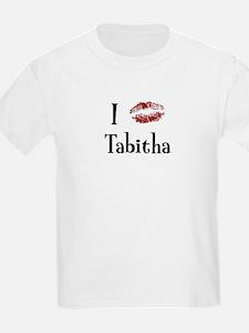 I Kissed Tabitha T-Shirt