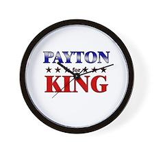 PAYTON for king Wall Clock