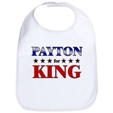 PAYTON for king Bib
