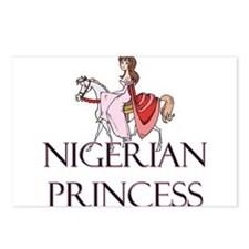 Nigerian Princess Postcards (Package of 8)
