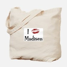 I Kissed Madisen Tote Bag