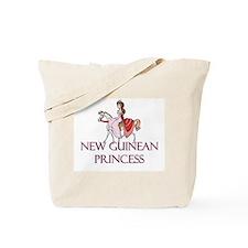 New Guinean Princess Tote Bag