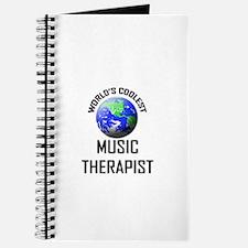 World's Coolest MUSIC THERAPIST Journal