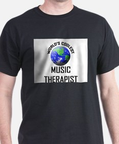 World's Coolest MUSIC THERAPIST T-Shirt