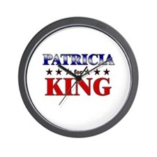 PATRICIA for king Wall Clock