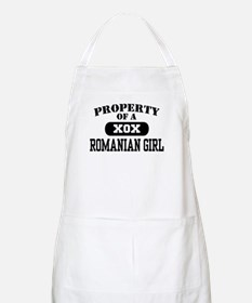 Property of a Romanian Girl BBQ Apron