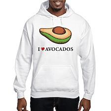 I Love Avocado Hoodie