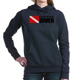 Scuba certified diver Hooded Sweatshirt
