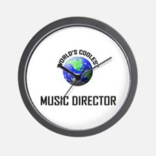 World's Coolest MUSIC DIRECTOR Wall Clock