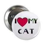 I LOVE MY CAT 2.25
