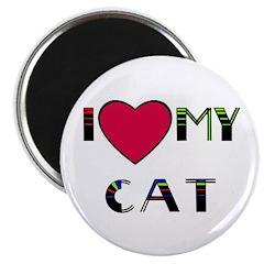 I LOVE MY CAT 2.25