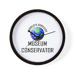 World's Coolest MUSEUM CONSERVATOR Wall Clock