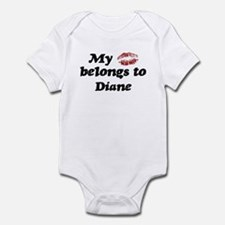 Kiss Belongs to Diane Infant Bodysuit