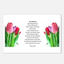 New Beginning Poem Postcards (Package of 8)