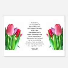 New Beginning Poem Postcards (Package of 8)