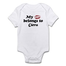 Kiss Belongs to Ciera Infant Bodysuit
