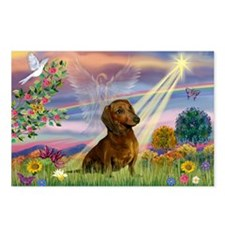 Cloud Angel & Dachshund Postcards (Package of 8)