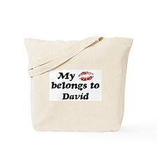 Kiss Belongs to David Tote Bag