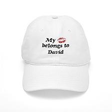 Kiss Belongs to David Baseball Cap