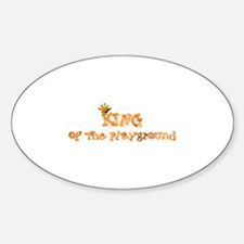 Playground King Oval Decal