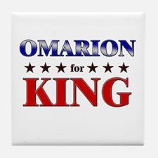 OMARION for king Tile Coaster