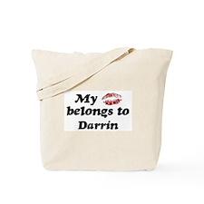 Kiss Belongs to Darrin Tote Bag