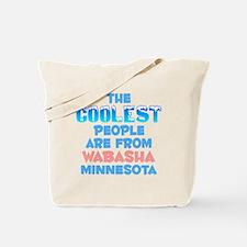 Coolest: Wabasha, MN Tote Bag
