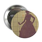 "Marchbanks Press Vintage Ad 2.25"" Button (100 pack"