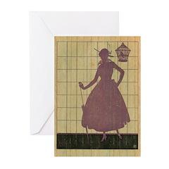 Marchbanks Press Vintage Ad Greeting Cards (Pk of
