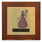 Marchbanks Press Vintage Ad Framed Tile