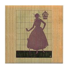 Marchbanks Press Vintage Ad Tile Drink Coaster