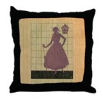 Marchbanks Press Vintage Ad Throw Pillow