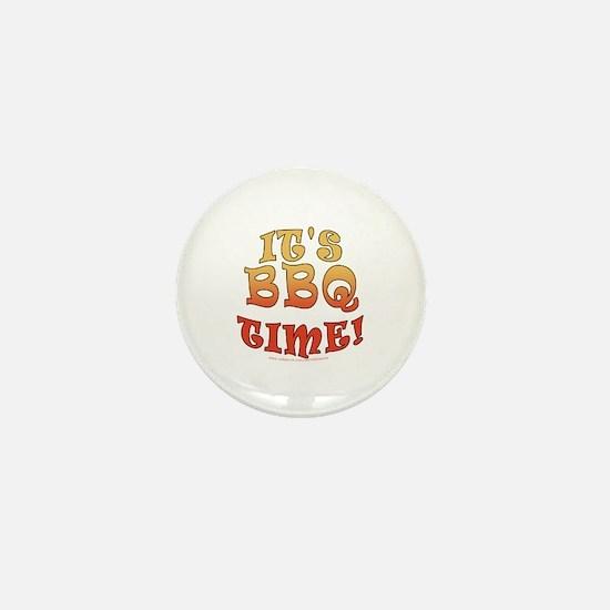 It's BBQ Time Mini Button