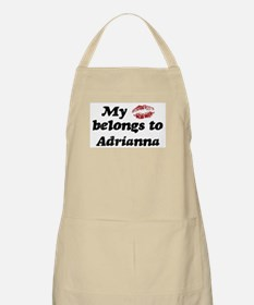 Kiss Belongs to Adrianna BBQ Apron
