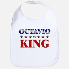 OCTAVIO for king Bib