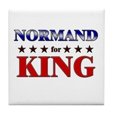 NORMAND for king Tile Coaster
