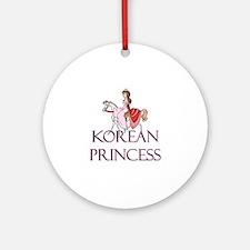 Korean Princess Ornament (Round)