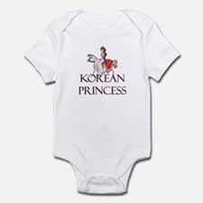Korean Princess Infant Bodysuit