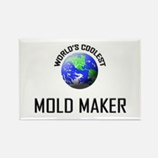 World's Coolest MOLD MAKER Rectangle Magnet